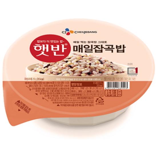 CJ제일제당 햇반 매일잡곡밥 210g (36개)