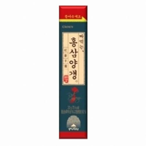 크라운제과 짜먹는 홍삼 양갱 30g (1개)_이미지