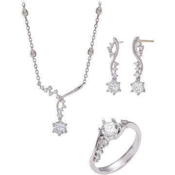 [3종] 몰리즈 14K 웨버 다이아몬드 세트