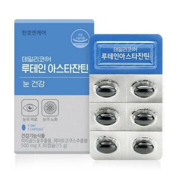 천호엔케어 데일리코어 루테인 아스타잔틴 30캡슐(1개)
