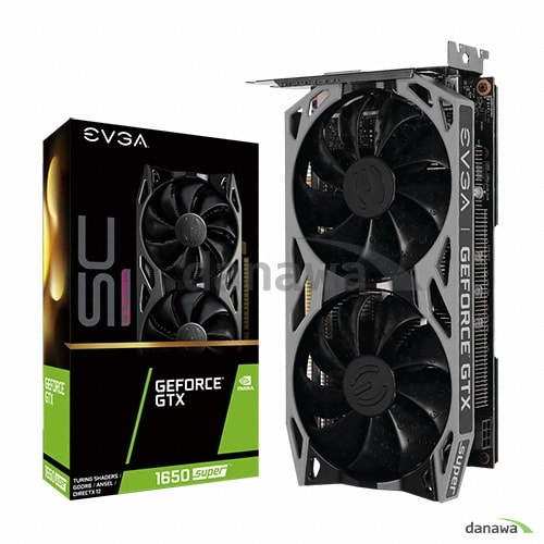 EVGA 지포스 GTX 1650 SUPER SC ULTRA GAMING D6 4GB