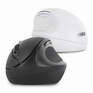 ABKO WEM10 버티컬 인체공학 무선 마우스 (블랙)