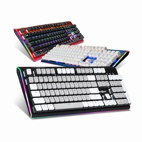 마이크로닉스  MANIC K735 엣지 RGB 카일박스축 (블랙, 적축)_이미지