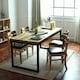 라미에스 키첸 아카시아 원목 식탁세트 1700 (의자4개)_이미지