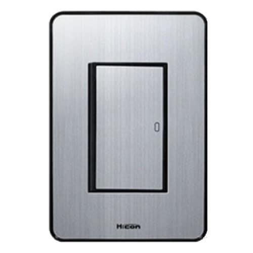 현대일렉트릭 하이콘80 1구 단로 스위치 실버_이미지