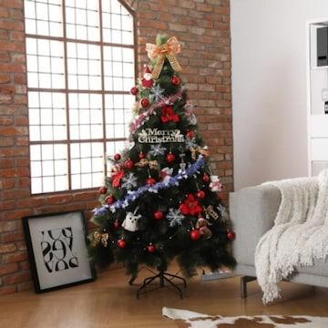 비솜 크리스마스 파인트리 3번 세트 (180cm)_이미지