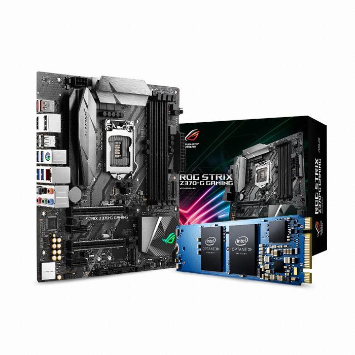 ASUS ROG STRIX Z370-G GAMING + 옵테인 메모리 16GB 코잇