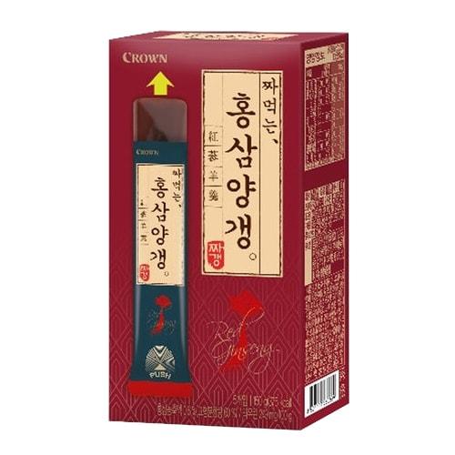 크라운제과 짜먹는 홍삼 양갱 150g (2개)_이미지