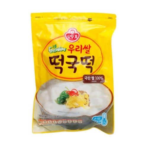오뚜기 우리쌀 떡국떡 600g (12개)_이미지