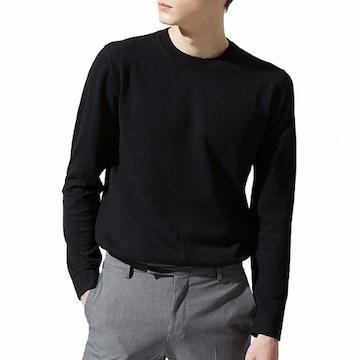 지오다노 컨셉원 남성 코튼 캐시미어 크루넥 스웨터 10059506