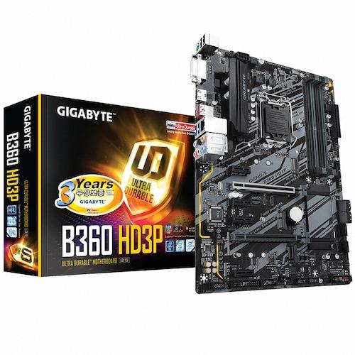 GIGABYTE B360 HD3P 듀러블에디션 피씨디렉트_이미지