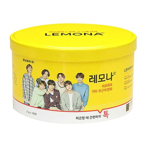 경남제약 레모나산 BTS 패키지 120포 (캔)(1개)