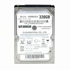크로바하이텍 320GB UTANIA (SATA2/5400/8M/노트북용)