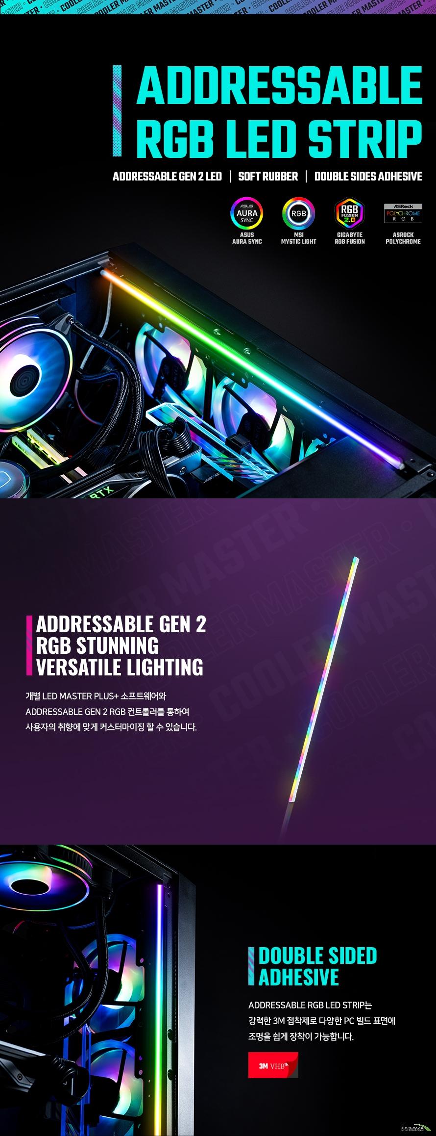 쿨러마스터 ARGB LED Strip