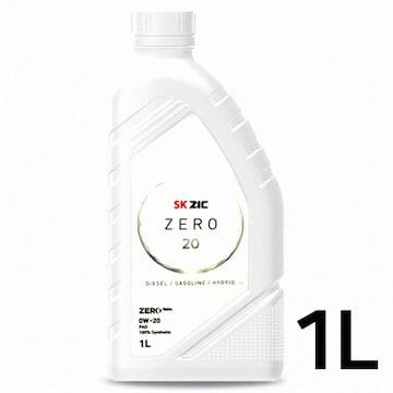 SK루브리컨츠 지크 제로 20 디젤/가솔린/하이브리드 0W20 1L (1개)