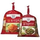 포기김치 4kg+열무김치 2.5kg