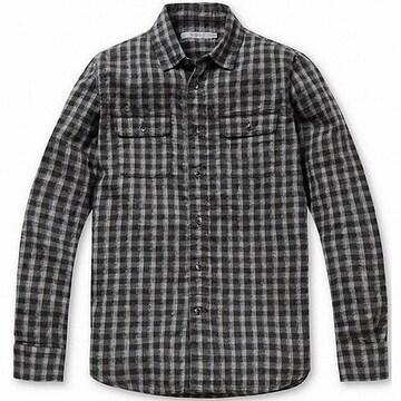 시리즈 톤온톤 체크 캐주얼 셔츠