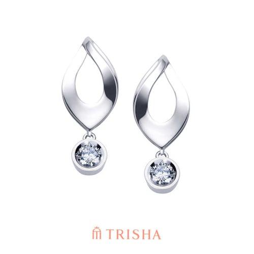 트리샤  18K 레인드롭D 다이아몬드 귀걸이_이미지