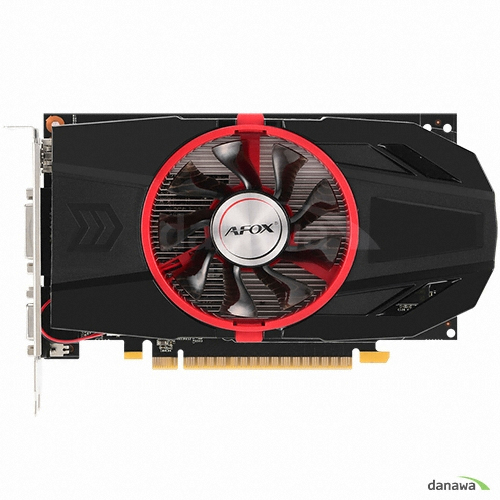 AFOX 지포스 GTX750 Ti D5 2GB Single Fan AXLE VISION