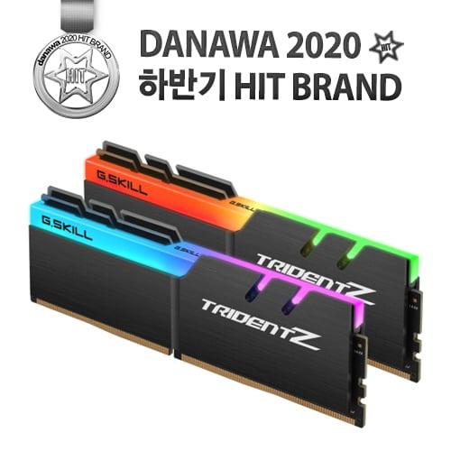G.SKILL DDR4 16G PC4-25600 CL14 TRIDENT Z RGB (8Gx2)_이미지