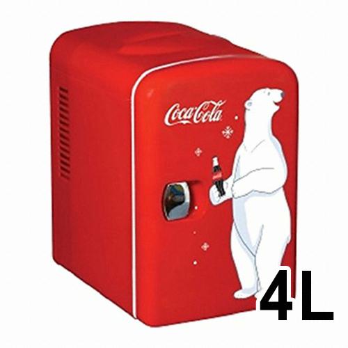 쿨라트론 KWC-4 코카콜라 미니냉장고 (해외구매)