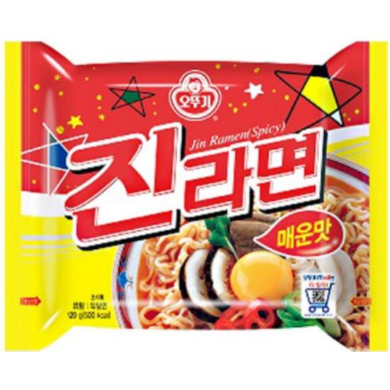 오뚜기 진라면 매운맛 120g(1개)