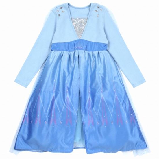 이랜드 로엠걸즈 겨울왕국2 코스튬 드레스 (RGOM19T1D)(엘사)