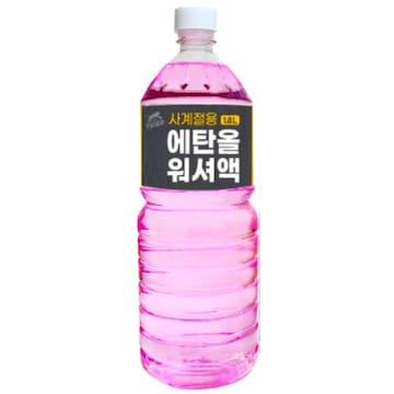 타이거 에탄올 워셔액 1.8L(1개)