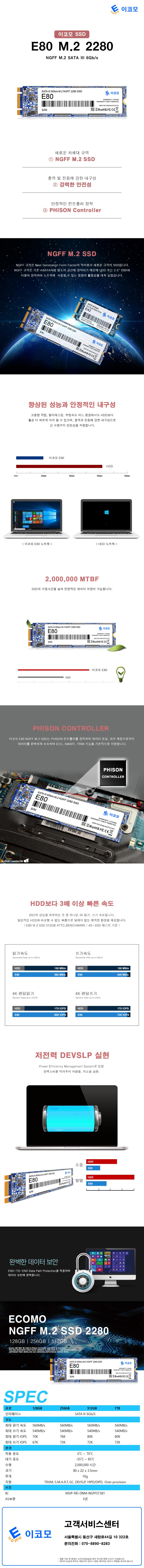 디지탈그리고나 이코모 E80 M.2 2280(1TB)