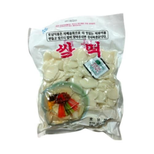 호남식품 쌀떡 1.4kg (8개)_이미지