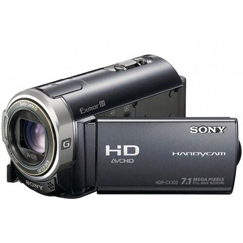 SONY HandyCam HDR-CX300 (16개월 무이자 상품)_이미지