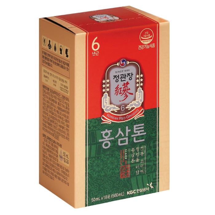한국인삼공사 정관장 홍삼톤 50ml 60포(1개)