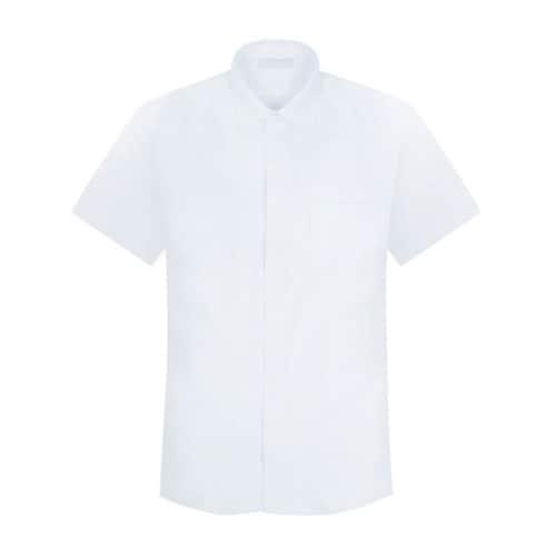 제이제이옴므 JJHOMME 화이트 레귤러 반팔 셔츠 J182RF1SH128_이미지