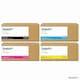 신도리코  정품 P410T4KK + P410T3KC + P410T3KM + P410T3KY 4색 세트 (1개)_이미지_0