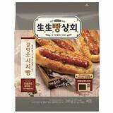 롯데제과 생생빵상회 갈릭 소시지빵 5개입 285g  (2개)