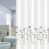 썬데코 들꽃 샤워커튼 (180x180cm + 커튼봉)