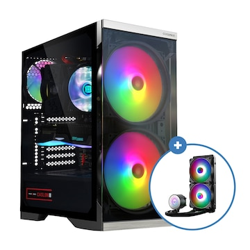 COOLMAX Q2 + AID W240 aRGB(블랙 패키지)