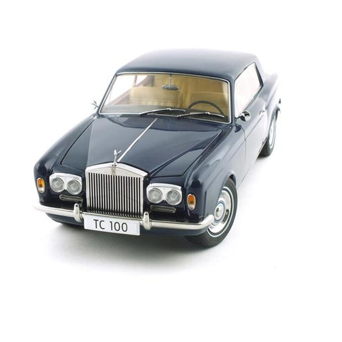 PARAGON MODELS 1968 롤스로이스 Silver Shadow Coupe 한정판 (PRG982038BL)