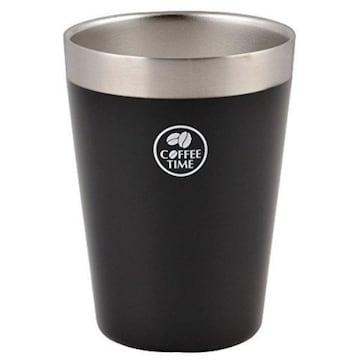 빠루 금속 진공 아이스 편의점 컵 라지 블랙 해외구매_이미지
