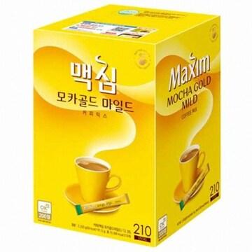 동서식품 맥심 모카골드 마일드 커피믹스 스틱 210T
