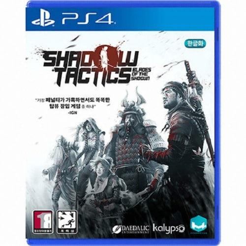 섀도우 택틱스: 블레이드 오브 더 쇼군 (Shadow Tactics: Blade of the Shogun) PS4 한글판,일반판_이미지