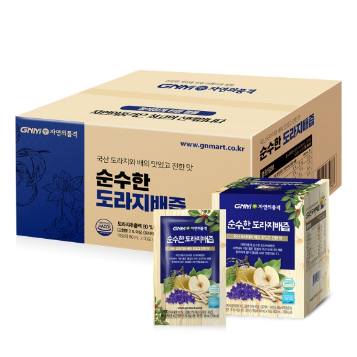 지엔엠라이프 GNM자연의품격 순수한 도라지배즙 80ml 50포(1개)