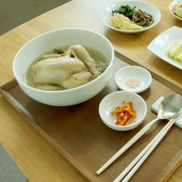 광주요 백자 수라인 면그릇 대 (2개)_이미지
