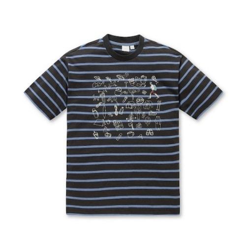 코오롱인더스트리 시리즈 에피그램 자수 프린트 S/T 티셔츠 S4TAX17233GYX_이미지