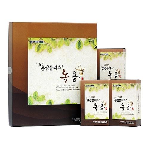 동국제약 네이처스비타민샵 홍삼 플러스 녹용 50ml 30포 (2개)_이미지