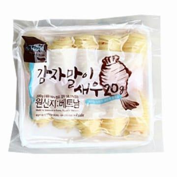 세미원푸드 감자말이 새우 200g(1개)