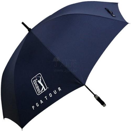 PGA투어 75 자동 올화이바 무지 우산 (1개)_이미지