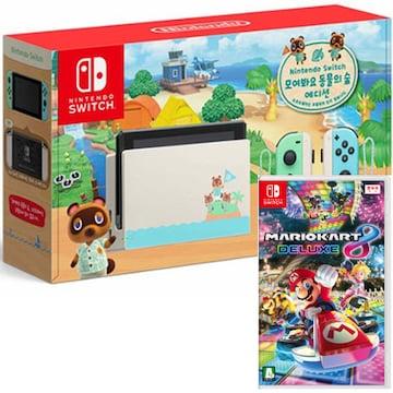 Nintendo 닌텐도 스위치 동물의 숲 에디션 4인용 게임타이틀 패키지