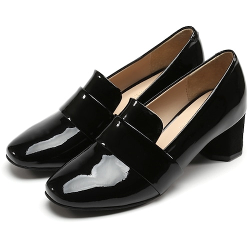 라비베카  LOAFER LAC004 (PATENT BLACK)_이미지