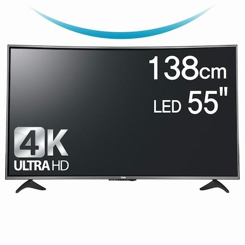 크로스오버 TIO 5525K UHD 커브드 TV (스탠드)_이미지